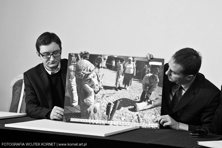 , Prapremiera VI  edycji kalendarza Miasto w Dialogu 2011, Fotografia Ślubna Lublin Wojtek Kornet