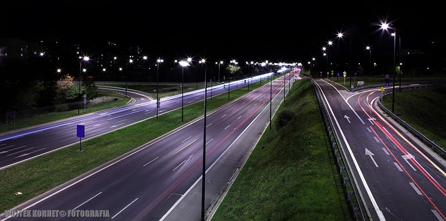 Fotografia Wojtek Kornet | pejzaż miejski | Lublin Nocą | Lublin by night