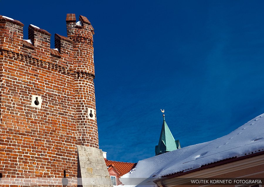 Fotografia Wojtek Kornet | pejzaż miejski | Lublin zimą | Lublin by winter | city landscape