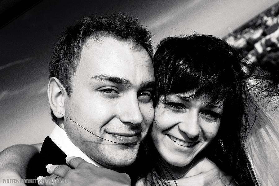 , Magda i Wojtek – just married high tower | plener ślubny, Fotografia Ślubna Lublin Wojtek Kornet
