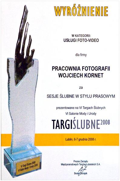 Targi ślubne – wyróżnienie w kategorii foto-video :)