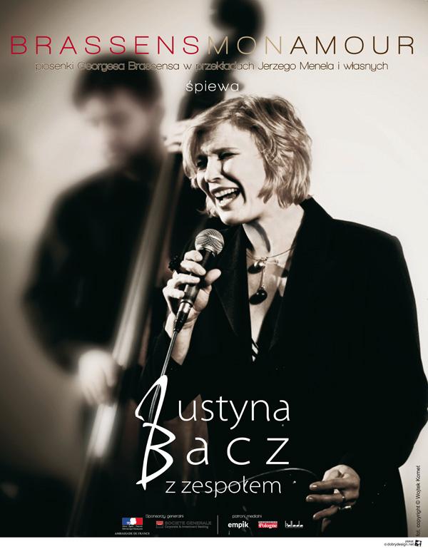 "Justyna Bacz – Recital ""Brassens, mon amour…"""