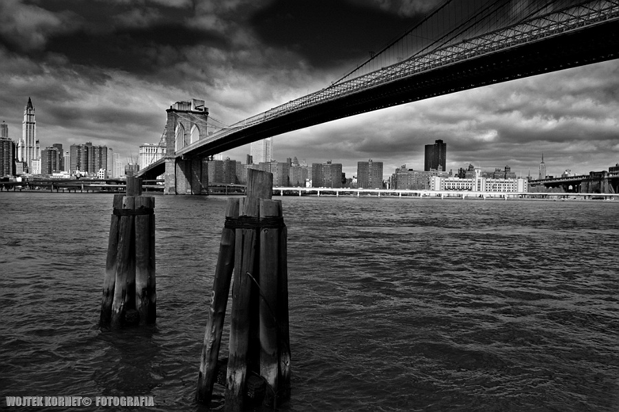 Brooklyn Bridge – wiosenne porządki