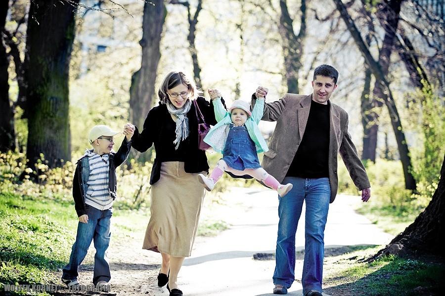 ob-sesja rodzinna: Iga, Kuba & rodzice