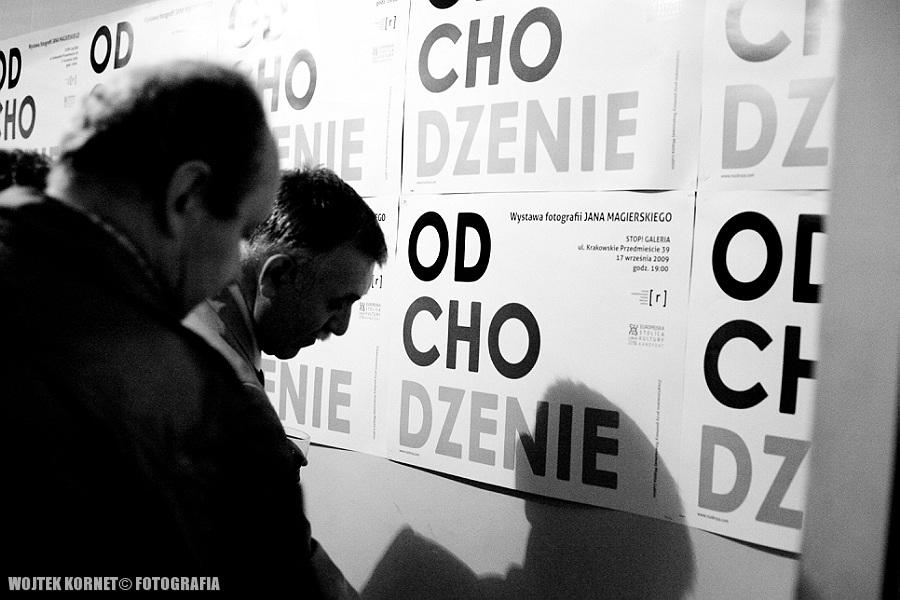 Odchodzenie – wernisaż wystawy Jana Magierskiego   fotorelacja