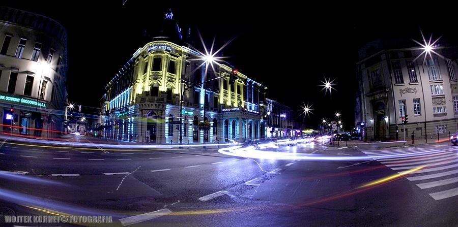 Lublin by night