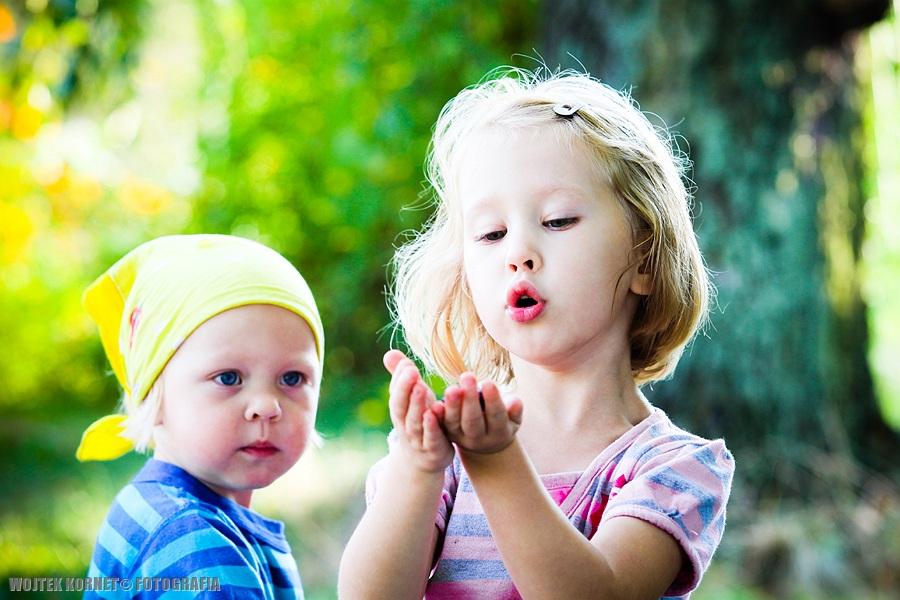 Dzieci lubią światło, światło lubi dzieci :) …