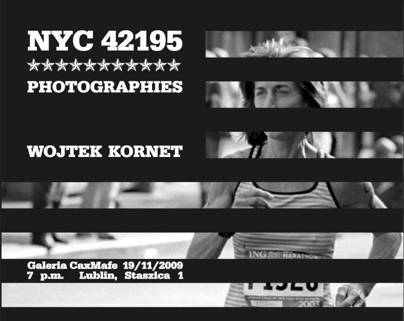 NYC 42195 PHOTOGRAPHIES | Wystawa fotografii Wojtka Korneta