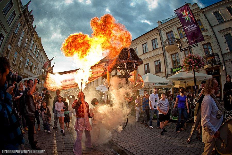 Carnaval Sztuk-Mistrzów 2010 | Lublin | Festiwal Sztukmistrzów