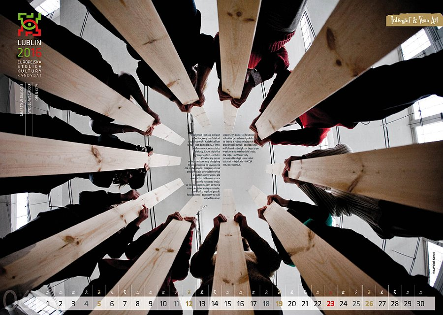 Prapremiera VI  edycji kalendarza Miasto w Dialogu 2011