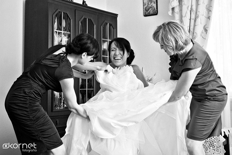 Agata i Karol | reportaż w dniu ślubu