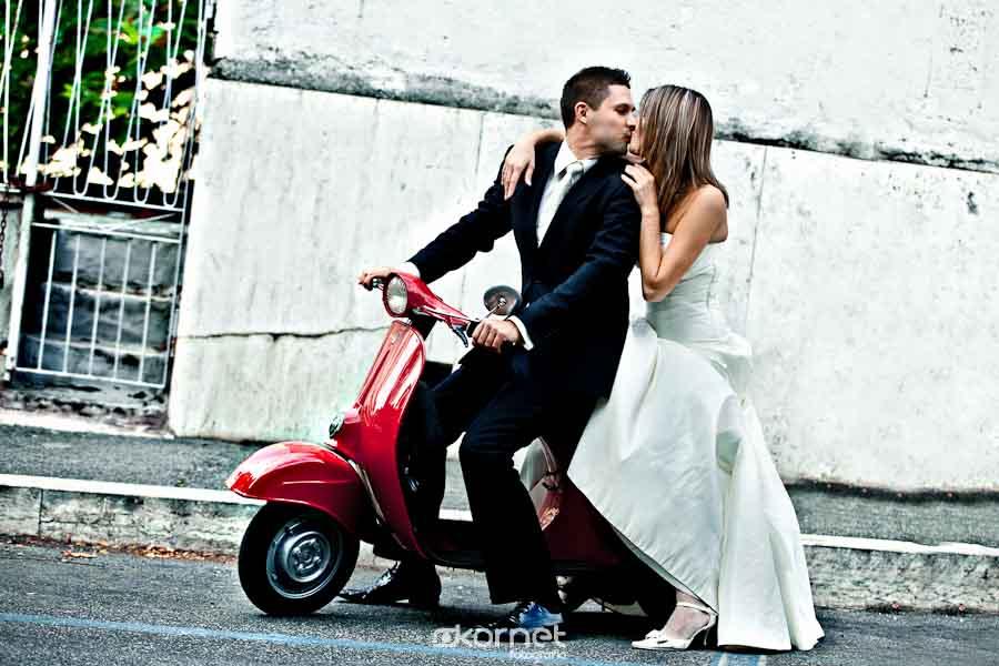 Asia i Sebastian | Sesja Ślubna w Rzymie