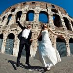 Asia i Sebastian Sesja Ślubna w Rzymie, Ostii i Tivoli | filmik
