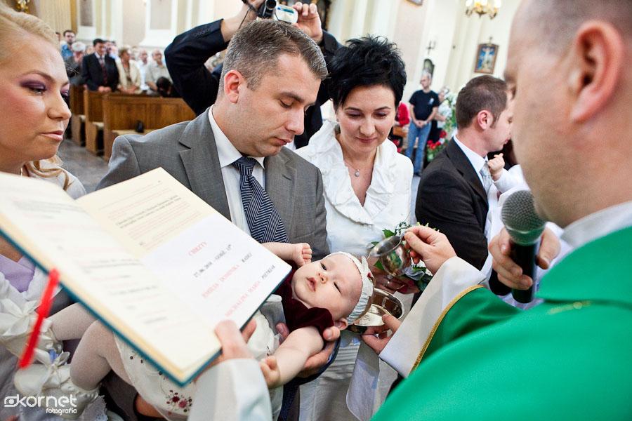 Chrzest Michalinki | fotoreportaż