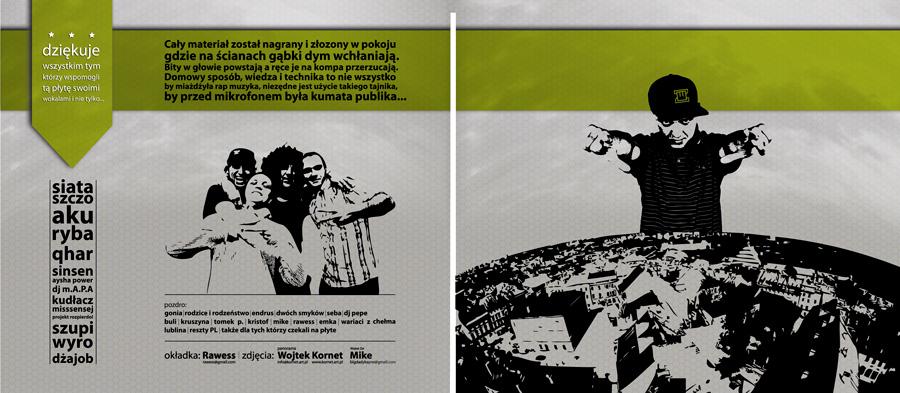 Wojtek ZET – Dźwięki z pierwszej ręki | okładka płyty