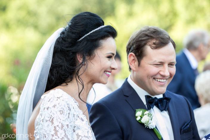 , Karina i Grzegorz zdjęcia w dniu ślubu, Fotografia Ślubna Lublin Wojtek Kornet