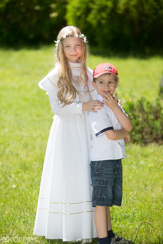 , Sesja z okazji I Komunii Leny, Fotografia Ślubna Lublin Wojtek Kornet