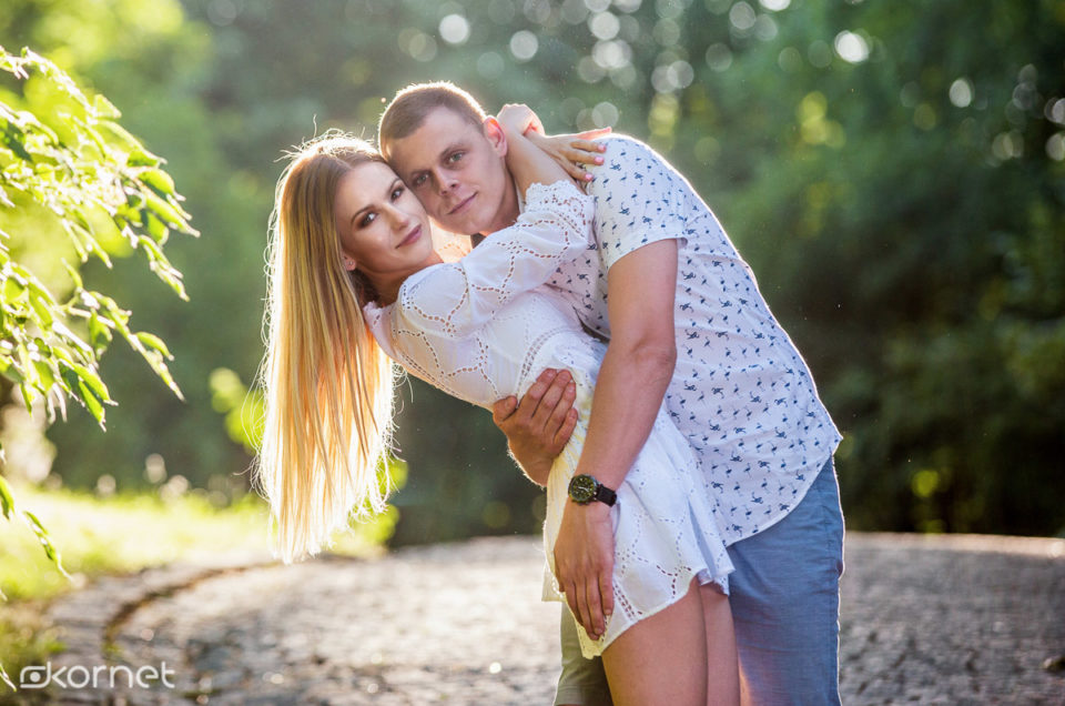 Paulina i Adrian | sesja narzeczeńska