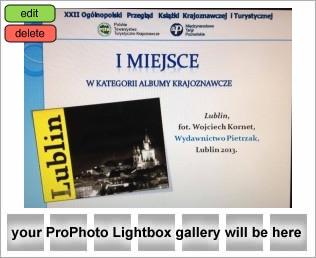 """, I Nagroda za album """"LUBLIN"""", Fotografia Ślubna Lublin Wojtek Kornet"""